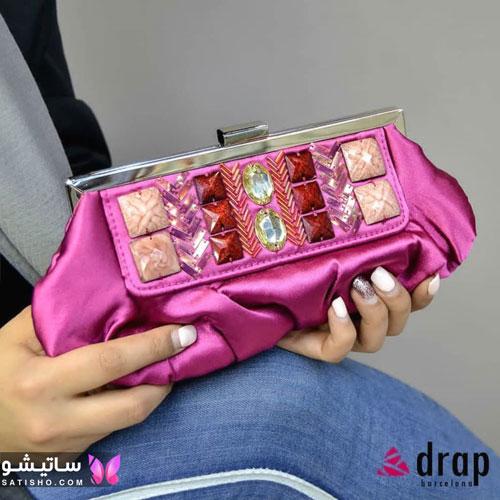 کیف مجلسی زنانه نگین دار
