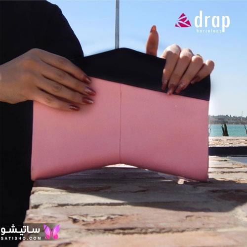 کیف مجلسی زنانه چرمی دست دوز