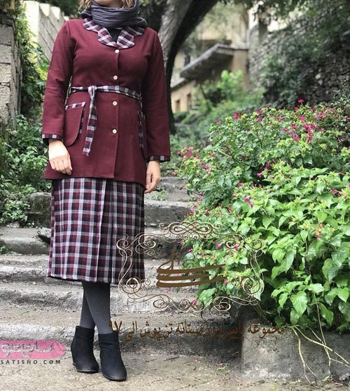 مدلهای جدید مانتو دامنی دخترانه 99