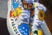 ایده برای نقاشی روی کفش