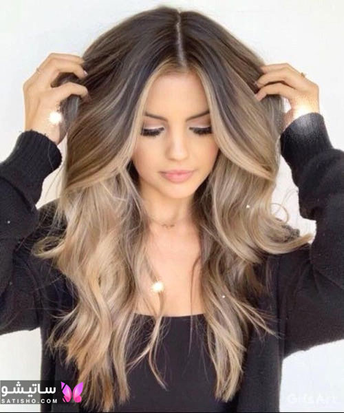 عکس مدل رنگ موی شیک و زیبا
