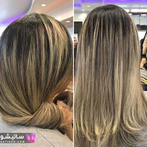 نمونه رنگ موی جدید اینستاگرامی 2020