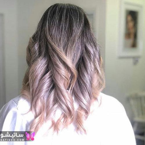 جدیدترین رنگ موهای دخترانه و زنانه