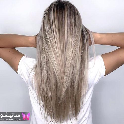 مدلهای رنگ موی هایلایت جدید