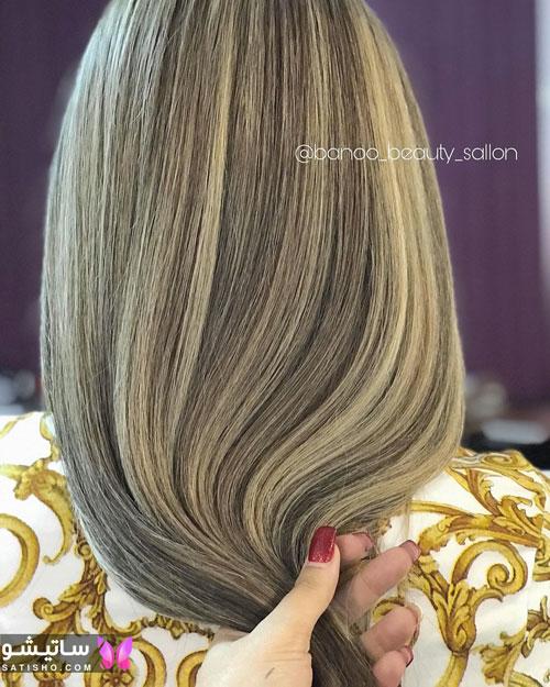 رنگ موی سال 1399
