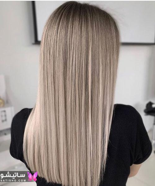 رنگ موهای بسیار جذاب و شیک