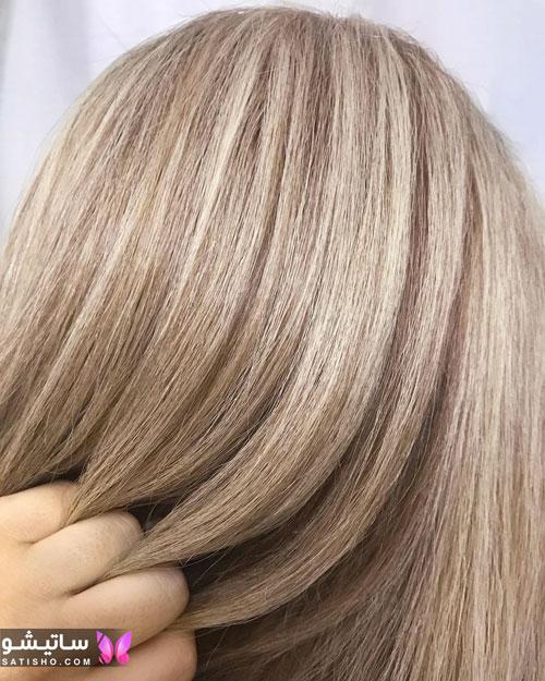 مدل رنگ مو مجلسی دخترانه