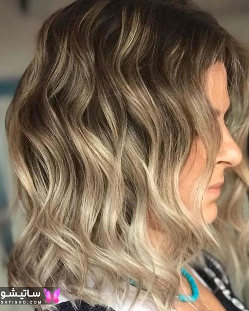 مدل رنگ مو و مش جدید 2020