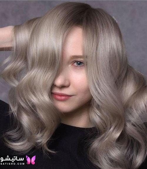 عکس مدل رنگ مو جدید 2020