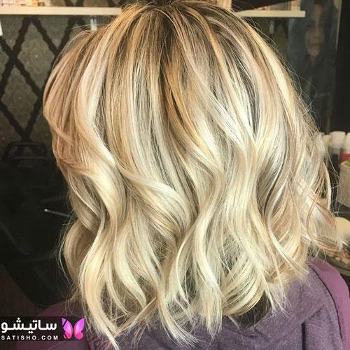 رنگ مو جدید زنانه و دخترانه