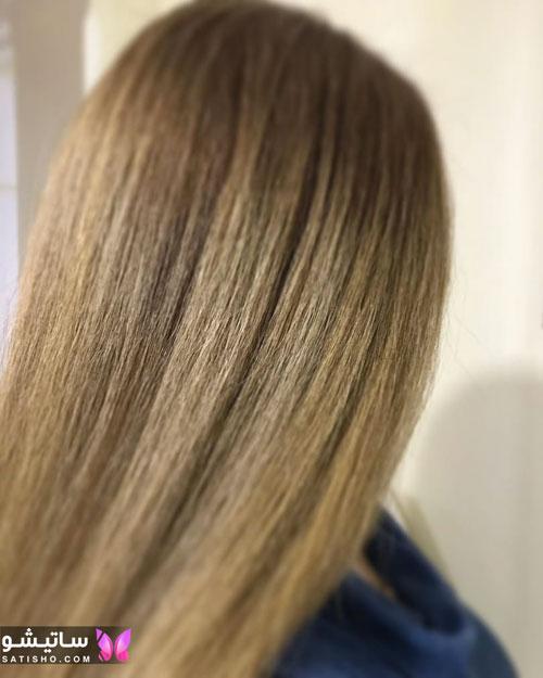 رنگ موی پرطرفدار جدید 99