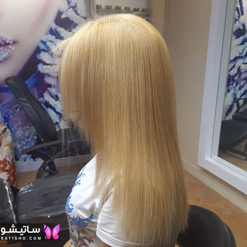 مدل رنگ موی بلوند ترند سال