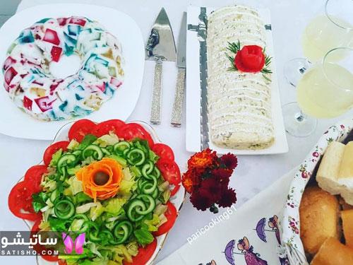 طرز تهیه و تزیین سالاد الویه برای مهمانی