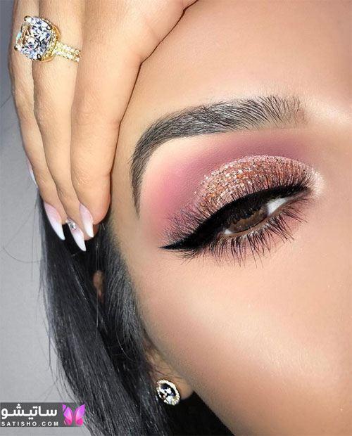 سایه چشم اکلیلی عروس ایرانی