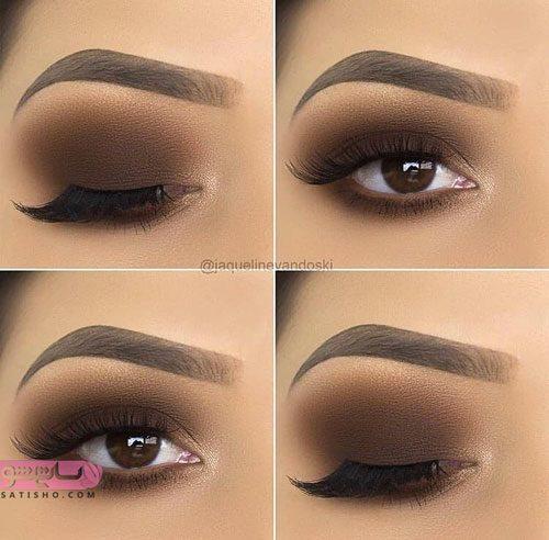 آرایش چشم ایرانی مناسب عروس