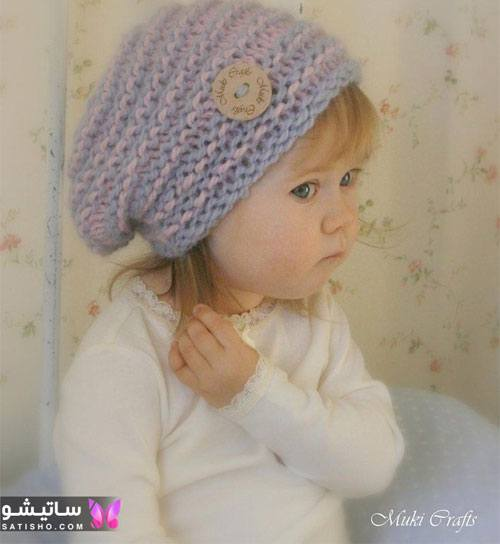 ایده های شیک و جدید برای کلاه بافتنی زنانه سال 99