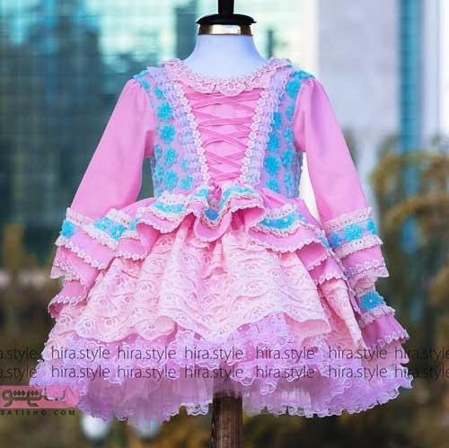 مدلهای لباس مجلسی دخترانه پرنسسی 99 بچگانه