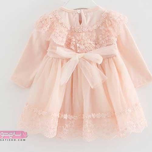 لباس مجلسی پرنسسی بچه گانه دخترانه شیک و جذاب