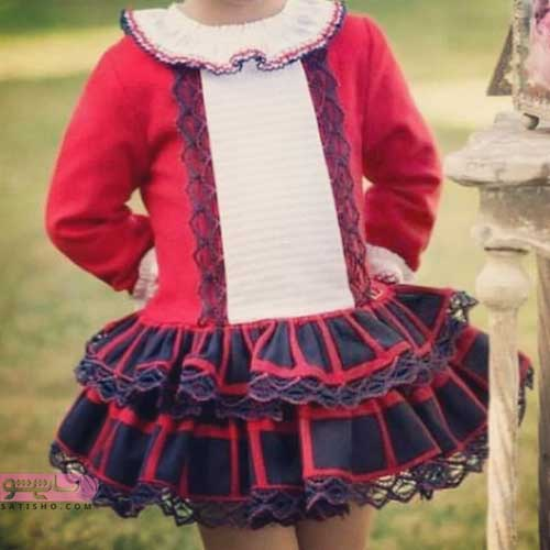 عکس لباس مجلسی دختربچه