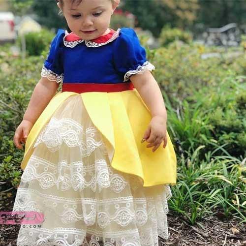 مدلهای جدید لباس مجلسی مناسب دختربچه