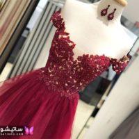لباس مجلسی بلند دخترانه ۲۰۲۰