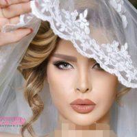 شیک ترین آرایش عروس ایرانی جذاب