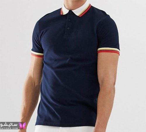 تی شرت مردانه یقه دار 2019