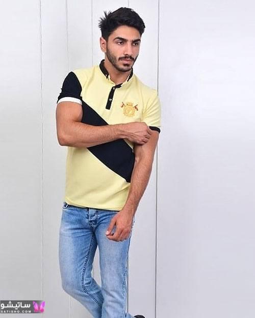 مدل های شیک تیشرت مردانه