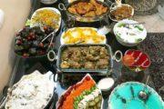 تزیین میز غذا اینستاگرام