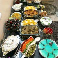 ۵۱ مدل تزیین میز غذا اینستاگرام