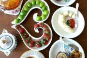 تزیین میز صبحانه مجلسی 98
