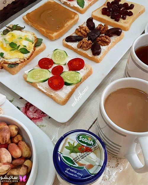 صبحانه خوشمزه و مقوی