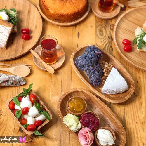 تزیین میز صبحانه با پنیر