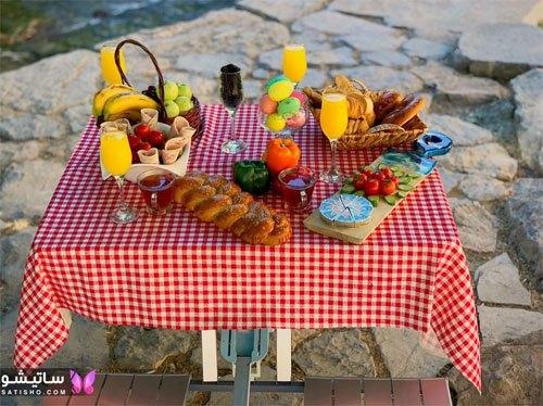 میز صبحانه ایرانی