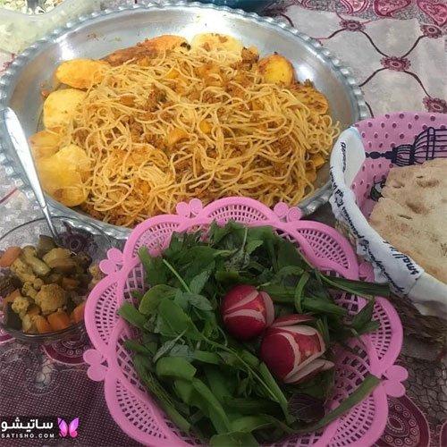 آموزش تزیین تربچه و سبزی برای شام مهمانی