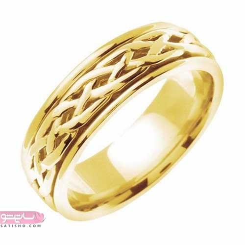 انگشتر فانتزی طلایی