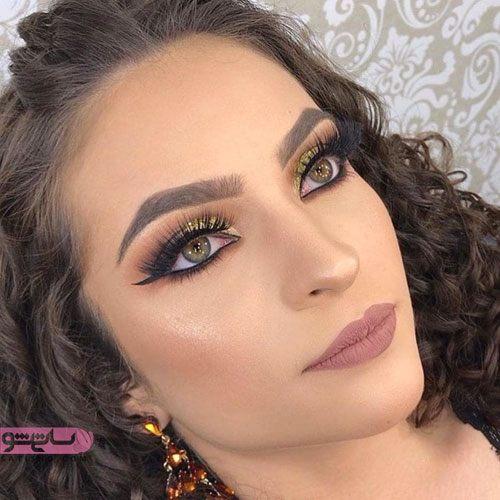 مدلهای جدید آرایش لایت عروس