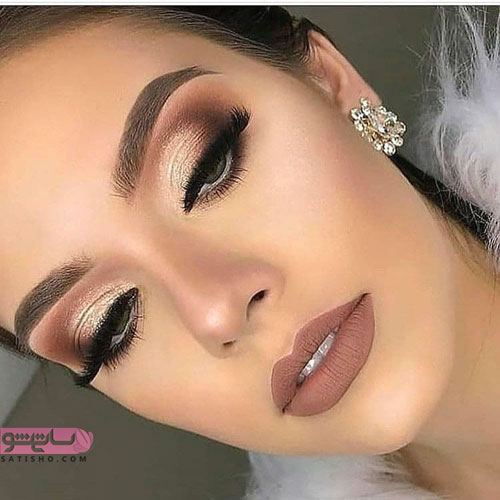 مدل آرایش لایت عروس ایرانی