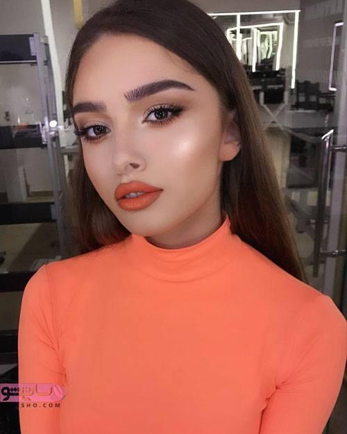نمونه آرایش لایت جذاب و بی نظیر 2020
