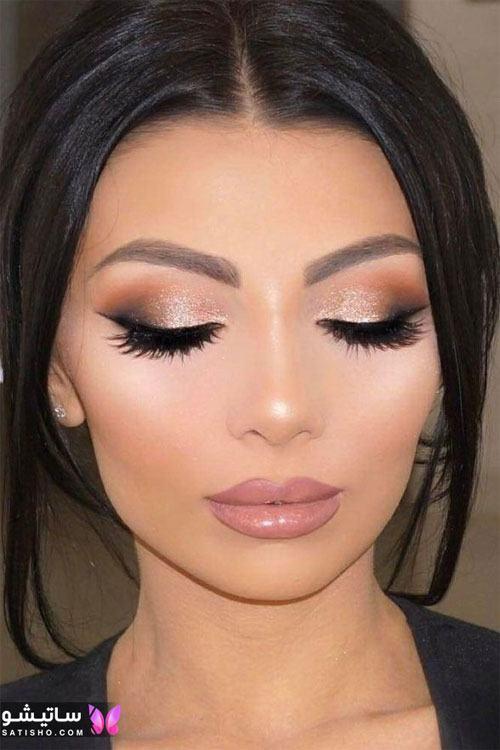 مدل آرایش عروس ایرانی و میکاپ های جدید