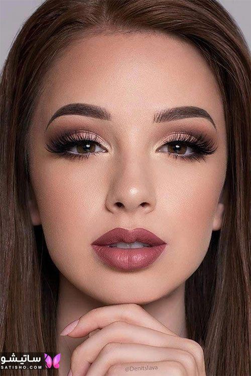 مدل آرایش و میکاپ محو ایرانی مناسب عروس
