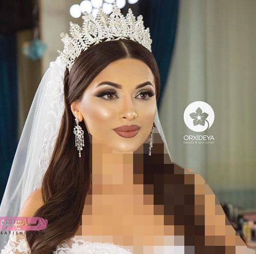 اینستاگرام میکاپ عروس ایرانی