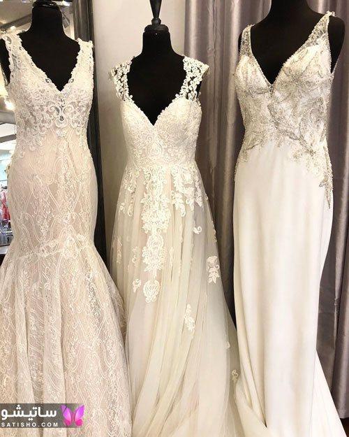 انواع لباس عروس شیک و جدید