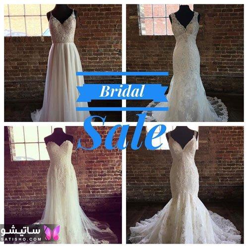 لباس عروس خیلی ساده