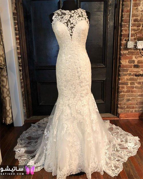 لباس عروس ساده و پوشیده 99