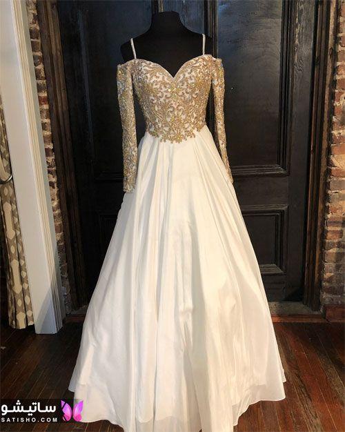 انواع مدل لباس عروس جدید