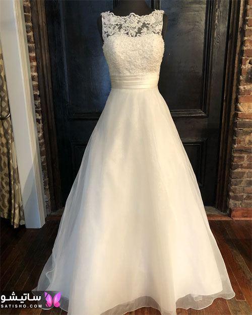 مدل لباس عروس جدید ساده و شیک