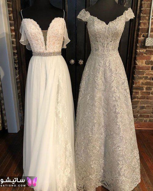 عکس عروس با لباس مجلسی