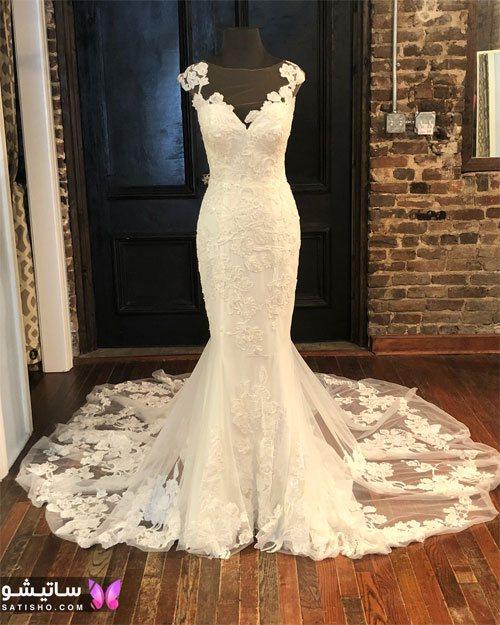مدل جدید لباس عروس اینستاگرام