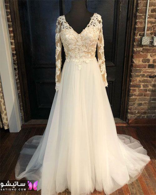 عکسهای لباس عروس پف دار لاکچری